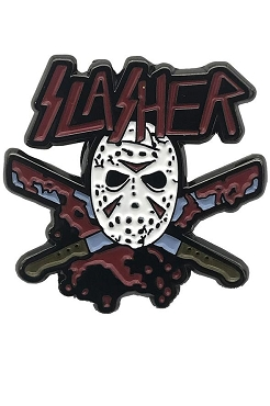 JASON VOORHEES ( FRIDAY THE 13TH) ENAMEL SLASHER PIN